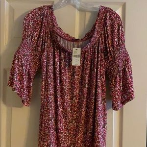 Lane Bryant tunic, off shoulder 18/20